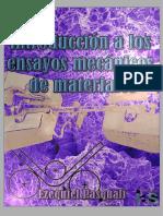 Introducción a los ensayos mecánicos de materiales; Ezequiel Pasquali.