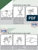 5. PROTOCOLO DE LAVADO DE MANOS CON GEL Y JABON  M&R