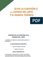 ESTADO DE LA CUSTION DEL ARTE Y EL MARCO TEORICO