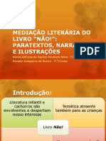 MEDIAÇÃO LITERÁRIA DO LIVRO