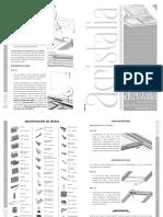 Acristalia Manual de Instalación Techo Cristal Móvil