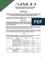 DIRECTIVA 058 FECHAS SEGUNDOS PARCIALES.pdf
