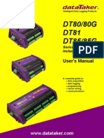 UM0085A7 - DT8x Users Manual