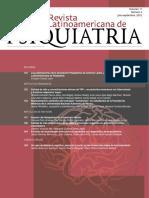 Revista de psiquiatría latinoamericana