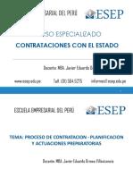02. Proceso de contratación - Planificación y actuaciones preparatorias