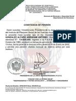 Constancia de Afiliacion IPSFA