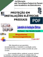 Apresentação-LIE-Aula 3-Proteção em Instalações Elétricas(Resumo)