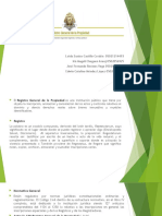 Presentación1para la exposicion del tema registro de la propieda del curso derecho registral