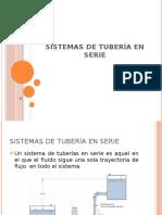 SISTEMAS DE TUBERÍA EN SERIE