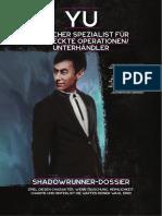 Shadowrun 6D - Starterpaket - Dossier - Yu