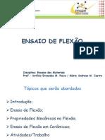 ENSAIO DE FLEXÃO