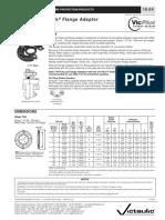 informacion tecnica vicflange
