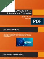 Cuestionario Informatica Educativa