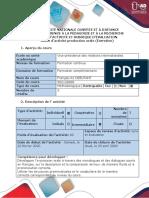 Guide d'expression orale et grille d'évaluation- Devoir 5 - Activité dexpression orale (Entretien)
