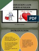 INTRODUCCION A LOS PRIMEROS AUXILIOS 2017.pdf