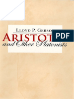 Lloyd P. Gerson - Aristotle and Other Platonists-Cornell University Press (2017)