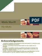 Nilufa Shariff - Pain Dissertation Presentation