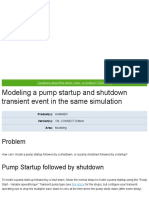 Modeling a pump startup and shutdown transient event in the same simulation - OpenFlows _ Hydraulics and Hydrology Wiki - OpenFlows _ Hydraulics and Hydrology - Bentley Communities