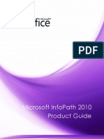Microsoft InfoPath 2010 Product Guide_Final