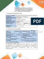 Guía de Actividades y Rubrica de Evaluación - Fase 3 - Estrategias Empresariales