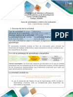Guía de actividades y rúbrica de evaluación - Unidad 2 - Reto 3 - Aprendizaje Unadista.pdf