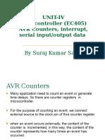 AVR Counter microcontroller
