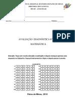 MATEMÁTICA - DIAGNÓSTICA - 8º ANO.pdf