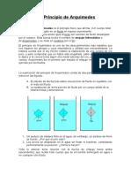Principio de Arquímedes-presion-empuje-peso aparente -flotabilidad-estabilidad-metacentro