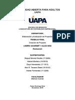 TRABAJO  FINAL ELABORACION DE PROYECTOS I