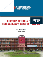 BAH 102_History of India from earliest time_BA History
