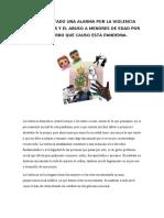 EL EFECTO PSICOLÓGICO QUE EL COVID 19 NOS HA TRAIDO ( MARIANA SANCHEZ SASTRE)