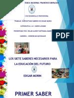 SABERES DE EDAGAR MORIN.pptx