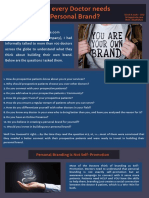 Why every Doctor needs a Personal Brand_