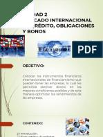 SLIDES U2 MERCADO INTERNACIONAL DE CREDITO