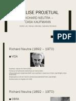 Análise Projetual - Casa do Deserto Kaufmann