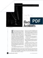 How we can better learn from electrical accidents