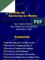 Gestión de Servicios en redes