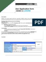 Membership Application Form 2010 - AIESEC Lahore