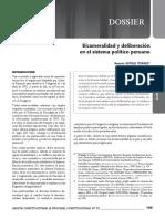GACETA JURÍDICA. Bicameralidad y deliberación.pdf