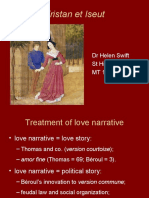 Tristan Lecture Week 7 - Love Narrative