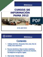 Recursos Informacion_PAMA