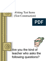 8-Writing-Test-Items-Test-Construction