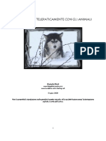 Comunicare Telepaticamente Con Gli Animali