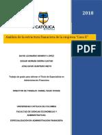 """Análisis de la estructura financiera de la empresa """"Caso X"""".pdf"""