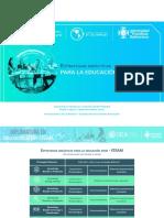 Estrategias didácticas para la educación STEM-STEAM 2020