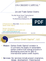 How to Trade by Carbon Credit Capital