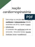 Reanimação cardiorrespiratória – Wikipédia, a enciclopédia livre.pdf
