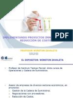 IMPLEMENTACIÓN DE PROYECTOS DE REDUCCIÓN DE COSTOS