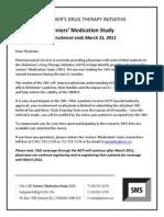 Seniors' Medication Study