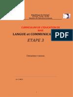 3. LANGUE ET COMMUNICATION 3,  EFA